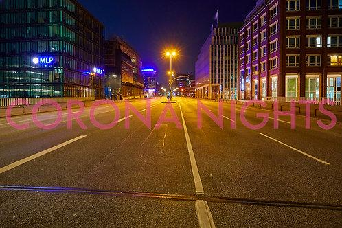 Willy-Brandt-Straße auf Aludibond