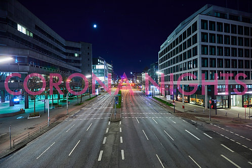 Willy-Brandt-Straße/Rödingsmarkt auf Aludibond