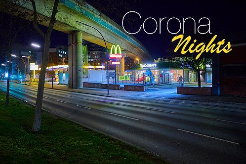Amsinckstraße McDonalds auf Alu-Dibond