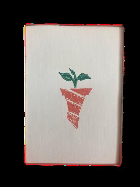 7x10 Linen Print