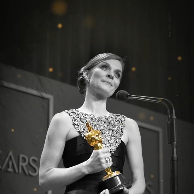 Hildur Guðnadóttir wins the Best Original Score Oscar for 'Joker'