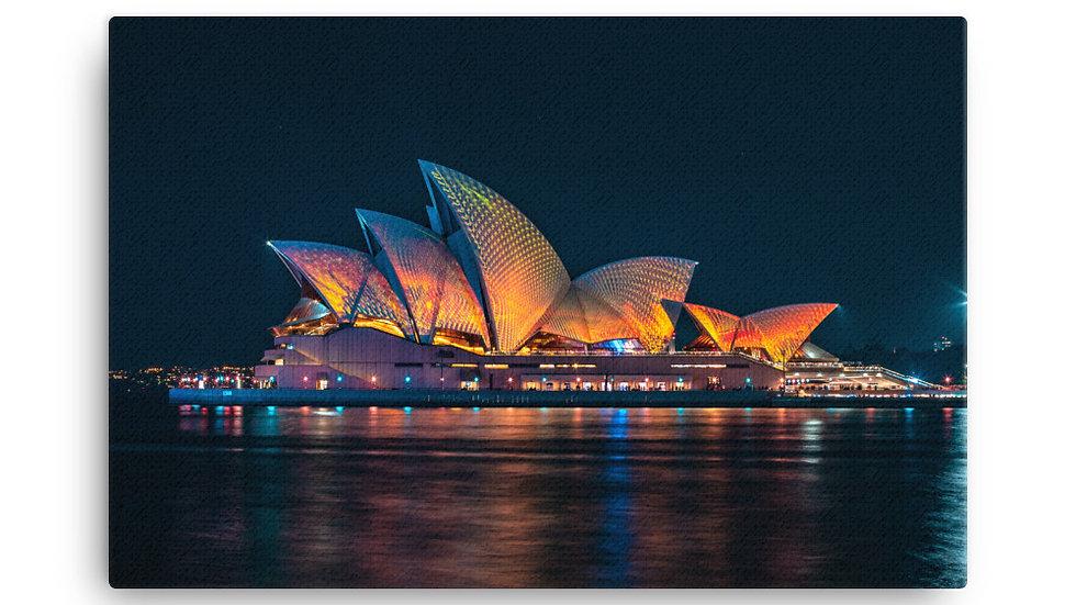 Quadro Opera House - Fazer as Malas - Canvas