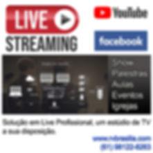 Live Transmissão online