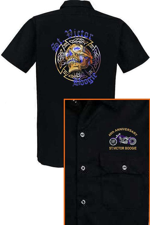 40th Anniversary Mechanics Shop Shirt
