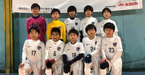 日本フットサル施設連盟 U11プレリーグ 関東ブロック2日目