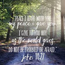 PEACE IS A GIFT FROM GOD