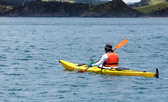 Kayaking on Tomales Bay in Point Reyes