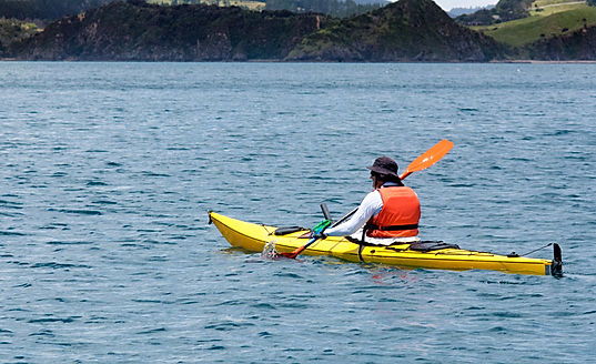 Kayaking on Tomales Bay in Point Reyes
