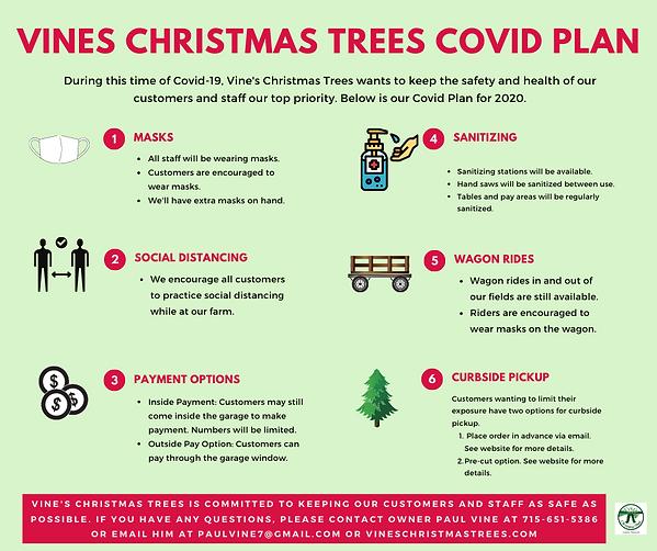 Copy of vines Christmas Trees Covid plan