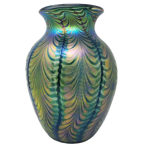 Lundburg Glass Vase