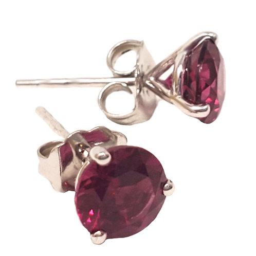 Kostbar Rhodolite Earrings