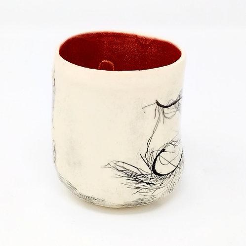 Barb Cambell Ceramic Tumbler