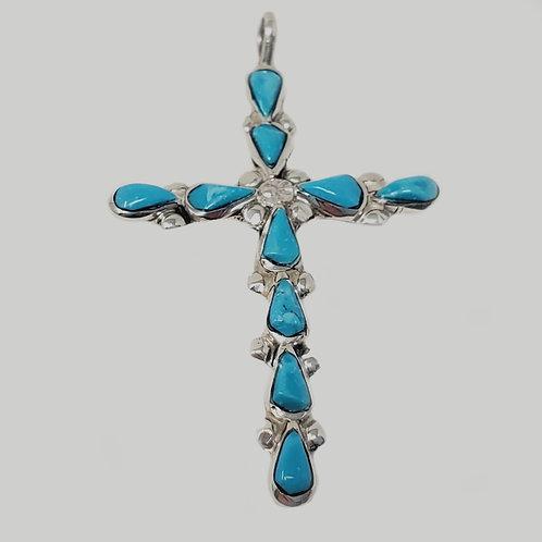 De La Luz Cross Pendant