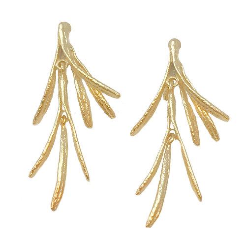 Silver Seasons Vermeil Earrings