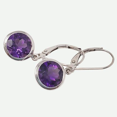 Kostbar Amethyst Earrings