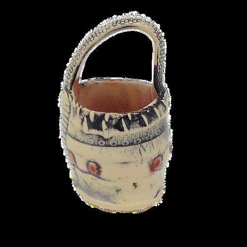 Barb Cambell Ceramic Basket