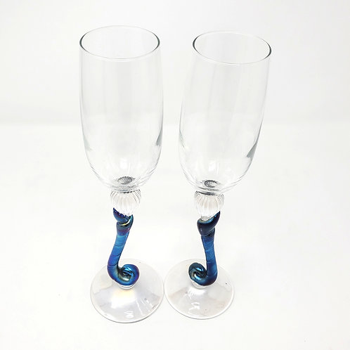 Romeo Glass Flutes