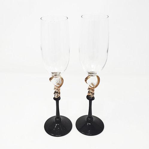 Romeo Glass Flutes