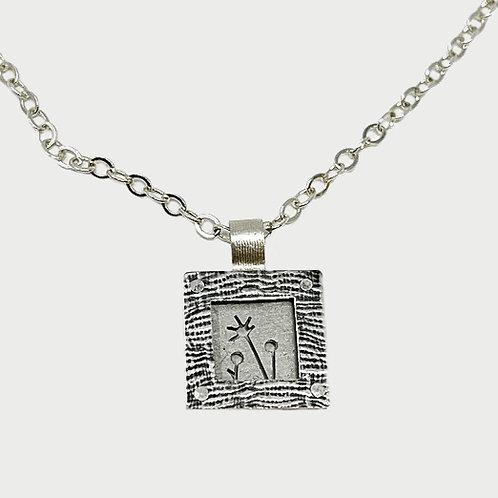 Bent Metal Necklace