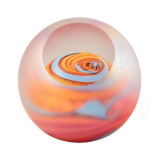 Glass Eye Jupiter Paperweight