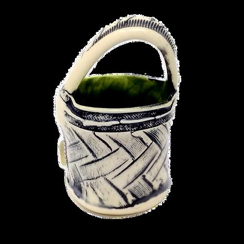 Barb Cambell Ceramic Small Basket
