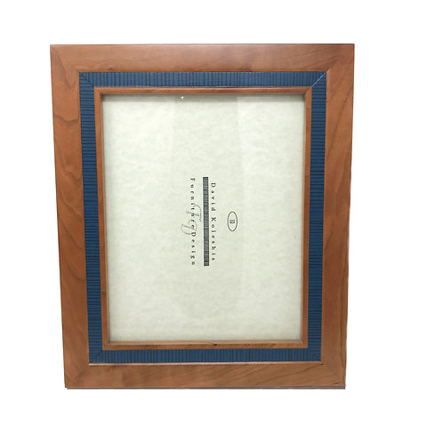 David Koleshis Inlayed Wood Picture Frame