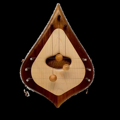 Wood Door Harp