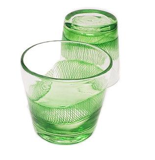Emerald Set of Glasses