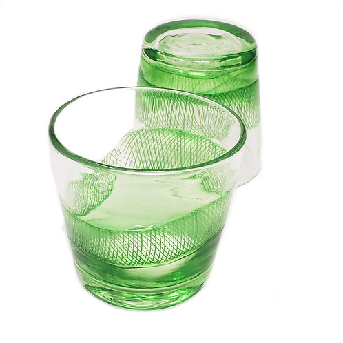 Emerald Set of Glasses