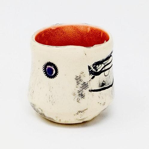 Barb Cambell Ceramic Jigger