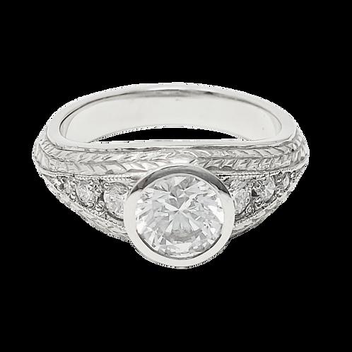 Kiwi Gold Ring