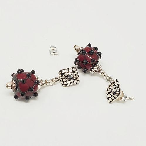 Nixon Art Glass Earrings