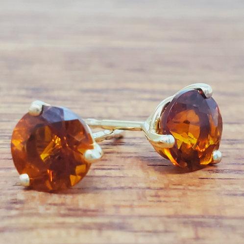 Kostbar Citrine Earrings