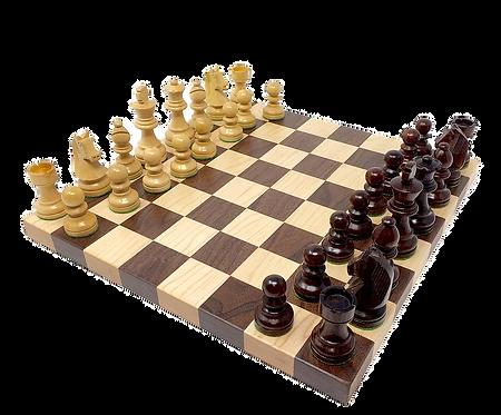 Hardwood Creations Chess Board Game