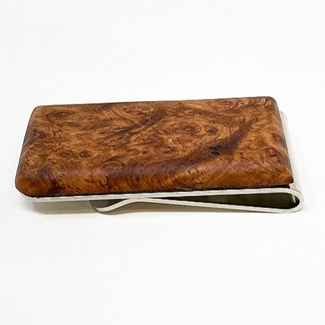 Wood Moneyclip