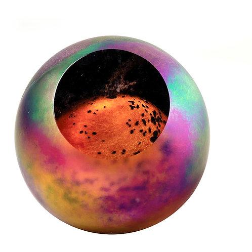 Glass Eye Mars Paperweight