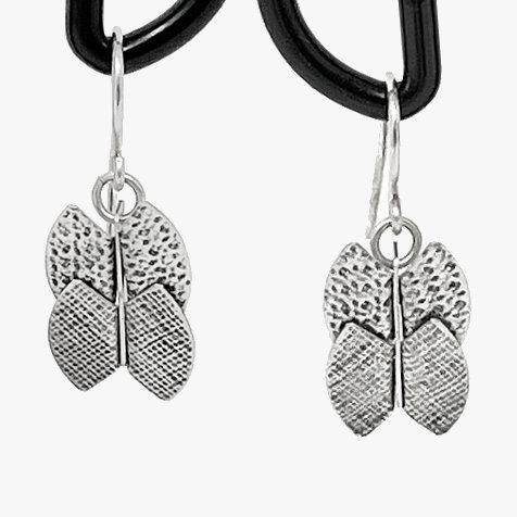Bent Metal Earrings