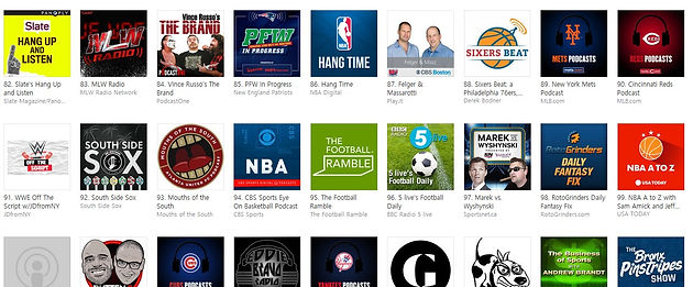 South Side Sox Podcast Episode 122 peaks at #92 on iTunes