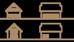 Ansichten Haustyp A