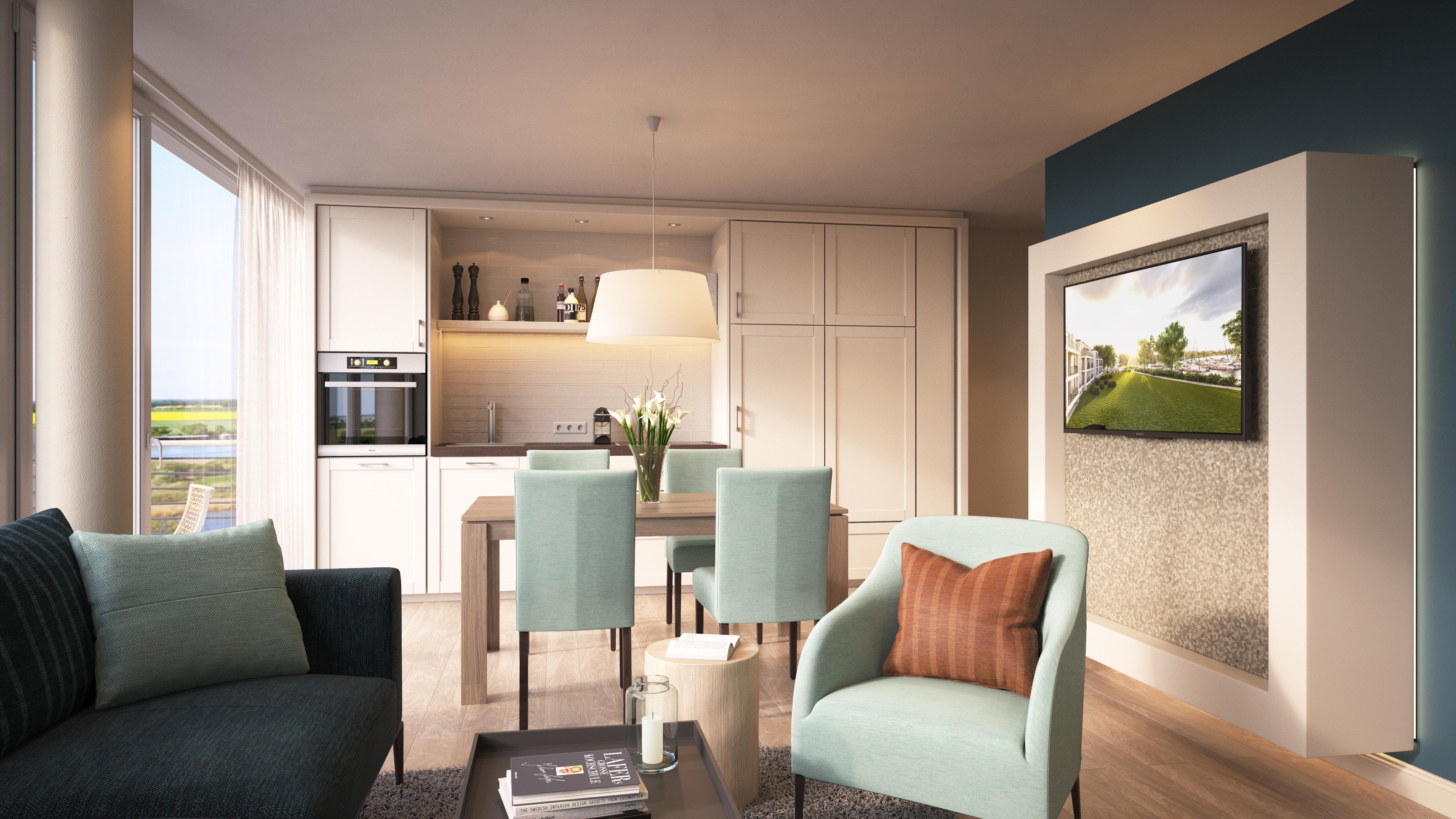 Wohnung Typ 1 mit 86 m²