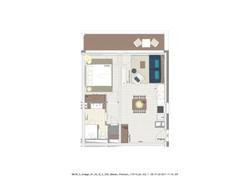 Wohnungstyp 3 mit 52 m²