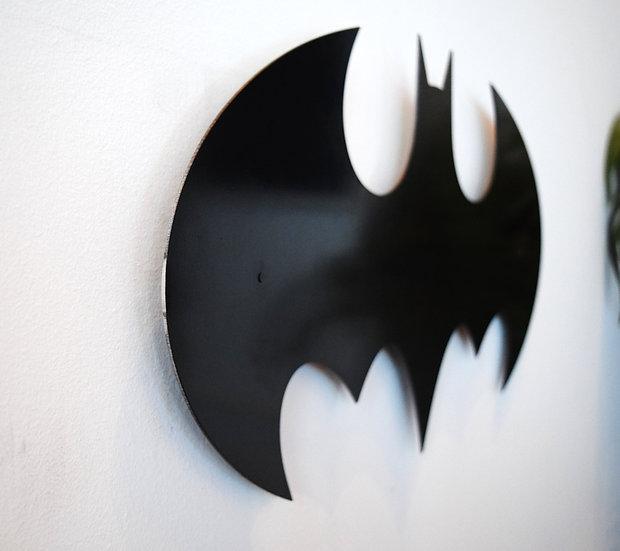 Batman - Floating Metal Wall Art