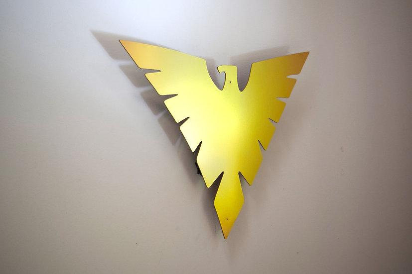 Phoenix Logo - Floating Metal Wall Art