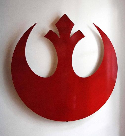 Rebel Alliance - Floating Metal Wall Art