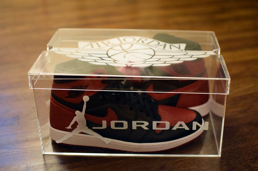 Jordan 1 Acrylic Shoe box