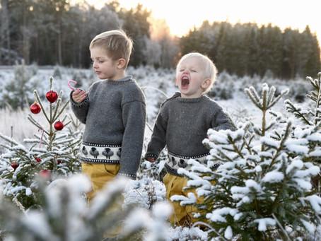 Jul, jul, vrålande kul. Glans över vita skogar