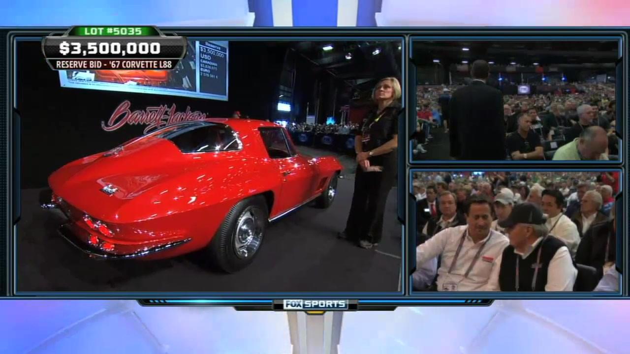1967 Corvette L88 Sells for $3.5 Million