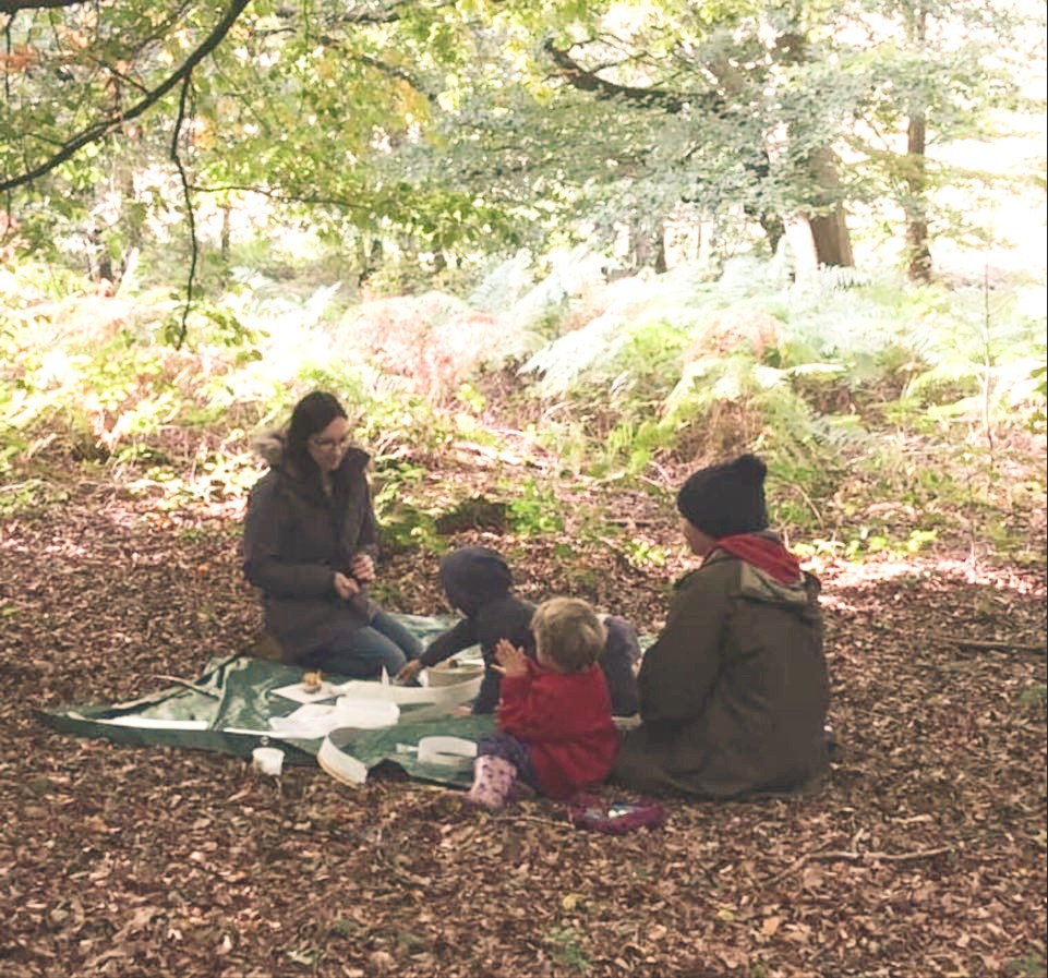 Home ed forest school