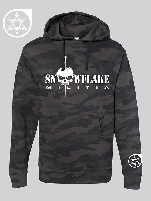 Snowflake Militia Camo Hoodie