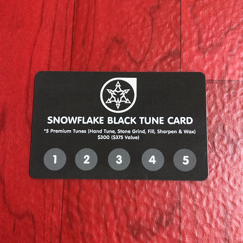 Black Tune Card